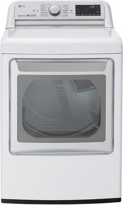 LG  DLEX7800WE Electric Dryer White, Front