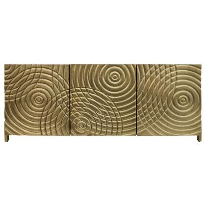 World of Patterns Collection 210010 Marrakesh Console in Brass