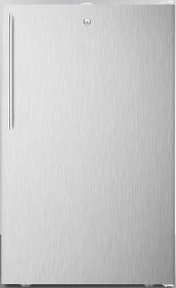CM411L7SSHV 20″ Compact Refrigerator with 4.1 cu. ft. Capacity  Commercially Listed  Factory Installed Lock and Crisper Drawer in Stainless