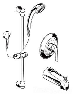 American Standard 1662215002 Shower Accessory, Image 1