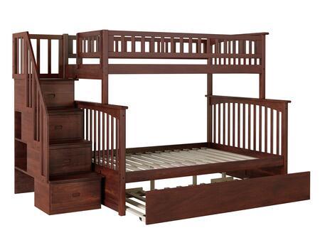 Atlantic Furniture Columbia AB55754 Bed Brown, AB55754 SILO SK TR1 180