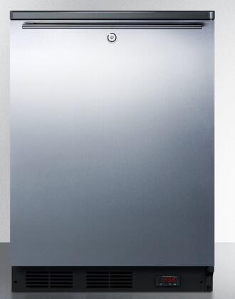 FF7LBLBIPUBSSHH 24″ Freestanding And Built-In Pub Cellar Adjustable Height  Reversible Door  Deep Shelf Space In