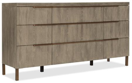 Hooker Furniture Pacifica 607590002LTWD Dresser, Silo Image