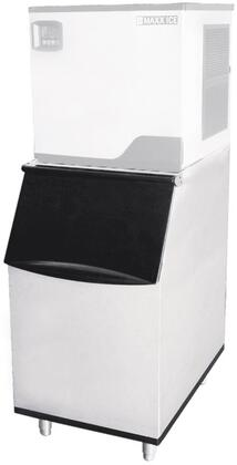 MIB310N 22″ Ice Storage Bin with 310 lbs. Capacity  LED Illuminated Interior and Scope Holder in Stainless