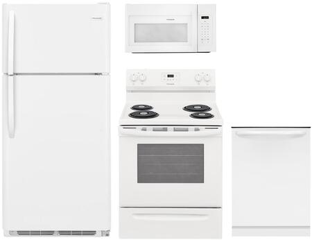 Frigidaire  850566 Kitchen Appliance Package White, Main Image