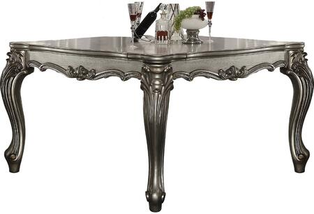 Acme Furniture Versailles 66835 Bar Table Silver, Counter Height Table