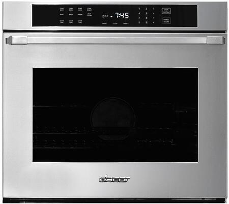 """Dacor Professional HWO130PS Single Wall Oven Stainless Steel, HWO130PS 30"""" Single Heritage Oven with Pro Handle"""