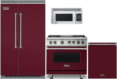 Viking 978169 Kitchen Appliance Package & Bundle Red, main image