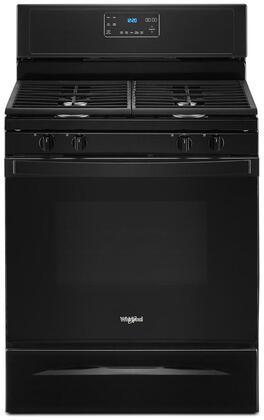 Whirlpool  WFG515S0JB Freestanding Gas Range Black, WFG515S0JB Gas Range