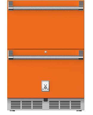 Hestan  GRFR24OR Drawer Refrigerator Orange, Main Image