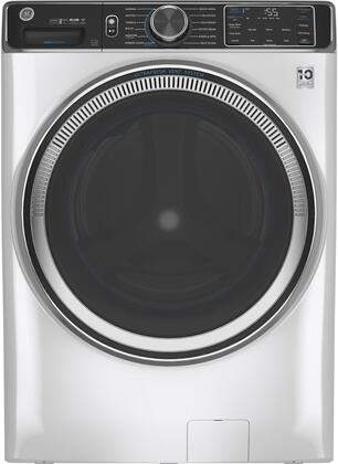 GE  GFW850SSNWW Washer White, Front View