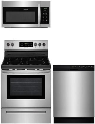 Frigidaire  840689 Kitchen Appliance Package Stainless Steel, main image