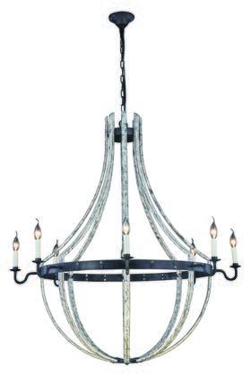 Elegant Lighting 1502G43IW Ceiling Light, Image 1
