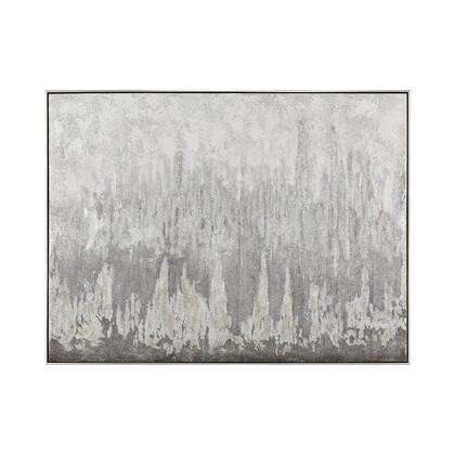 1219-051 Shiso Vain Wall Decor  In Grey And