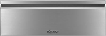 Dacor  HWDF30S Warming Drawer Stainless Steel, Front View