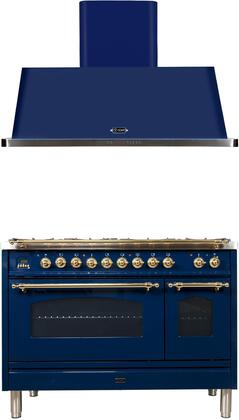 Ilve  1311495 Kitchen Appliance Package Blue, Main Image