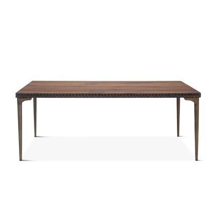Vallarta Collection ZWSCDT78TT Dining Table in Brown