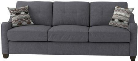 Acme Furniture Cleavon II 53790 Stationary Sofa Gray, 1