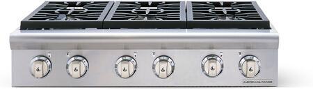 American Range Cuisine ARSCT366N Gas Cooktop Stainless Steel, Main Image