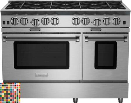 "BlueStar Platinum BSP488BCC Freestanding Gas Range Custom Color, 48"" Platinum Series Range"