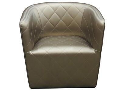 Delancey 125-BT-BNC-GEL Lounge Chair in Bronze