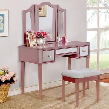 Furniture of America  CMDK6148RG Vanity , cm dk6148rg