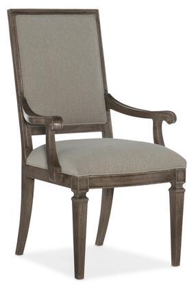 Hooker Furniture Woodlands 58207540184 Dining Room Chair Beige, Silo Image