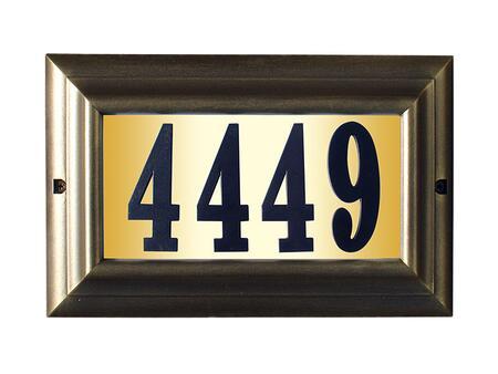 Qualarc Edgewood LTL1301FBPN Address Plaques, LTL 1301 FB PN