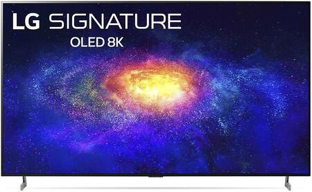 OLED77ZXPUA 77″ 8K Smart OLED TV with AI ThinQ  AI 8K Upscaling and Dolby Vision IQ &