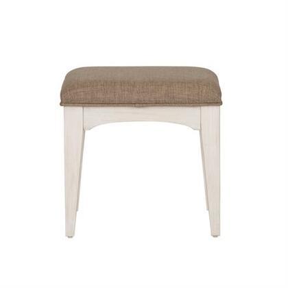 Liberty Furniture 249BR48 Stool White, Mian view