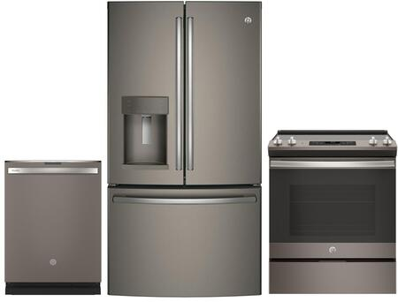 GE  903698 Kitchen Appliance Package Slate, Main Image