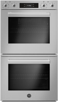 Bertazzoni Professional PROF30FDEXT Single Wall Oven Stainless Steel, PROF30FDEXT Double Convection Wall Oven