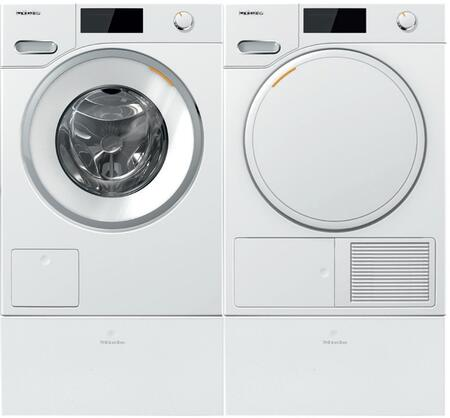 Miele Classic 1005759 Washer & Dryer Set White, Main Image