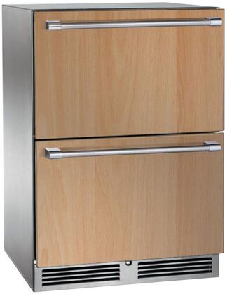 Perlick Signature HP24FS36 Drawer Freezer Panel Ready, Custom Panel and Handle Not Included