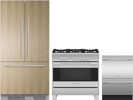 Fisher Paykel 1124906 Kitchen Appliance Package & Bundle Panel Ready, main image