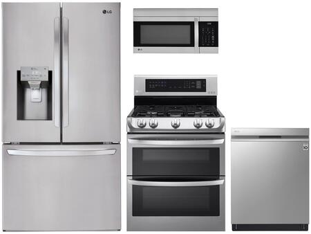 LG 1115587 Kitchen Appliance Package & Bundle Stainless Steel, main image