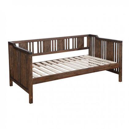 Furniture of America Petunia CM1767BED Bed Brown, 1