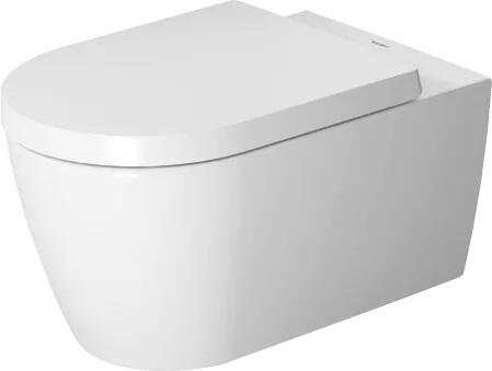 25290900921 ME by Starck Wall-Mounted Toilet with 1.28/0.8 GPF and Duravit Rimless in