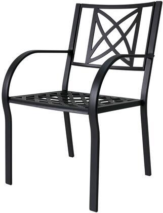 Vifah Paracelsus V1810 Patio Chair Black, Main View.