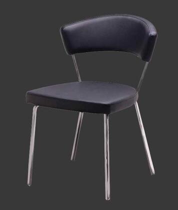 Grako Design  KRCS434BLACK Dining Room Chair Black, Main Image