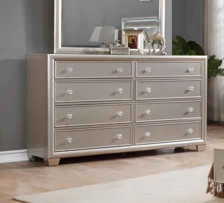 Myco Furniture Mariano MA800DR Dresser Silver, Main view