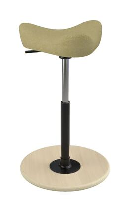 Varier Move Small MOVESMALL2700HALLINGDALE407NATMEBLK Office Stool, Main Image