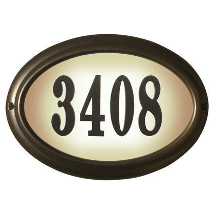 Qualarc Edgewood LTO1302ORB Address Plaques, LTO 1302 ORB