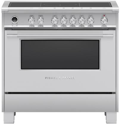 Fisher Paykel Classic OR36SCI6X1 Freestanding Electric Range Stainless Steel, OR36SCI6X1 Classic Induction Range