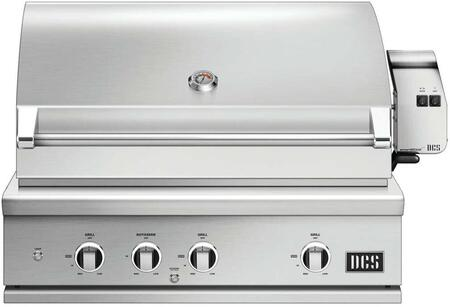 DCS 9 Series BE136RCL Liquid Propane Grill Stainless Steel, 1