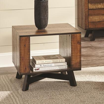 Scott Living Occasional Groups 705637 End Table Brown, End Table