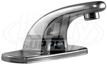 Sloan Optima 3315155BT Faucet Silver, 170597