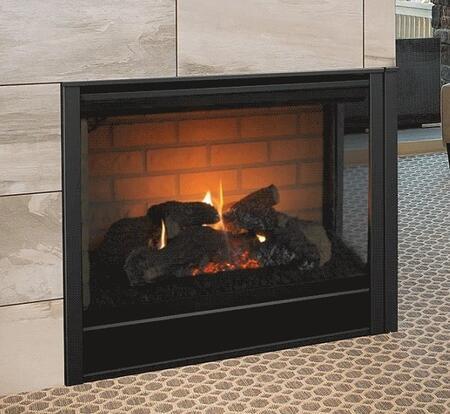 Majestic  RCORDV36IN Fireplace Black, Corner 1400x785 anim