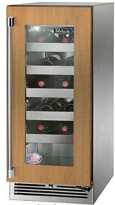 Perlick Signature HP15WS44RL Wine Cooler 25 Bottles and Under Panel Ready, Main Image