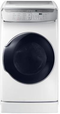 Samsung DVG60M9900W Gas Dryer White, Main Image